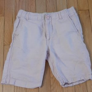 Gap kids pink linen boys shorts